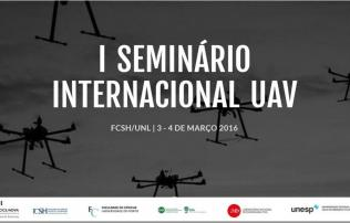 I Seminário Internacional UAV (unmanned aerial vehicles)